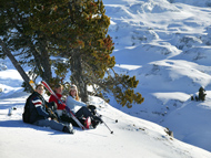 groupe etudiant weekend ski
